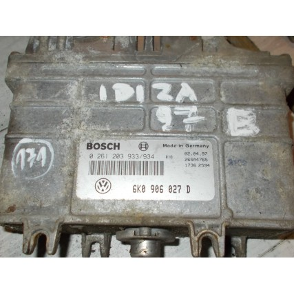ECU Vw, Skoda, Seat - Bosch 0 261 203 933/934, 0261203933, 6K0 906 027 D, 6K0906027D