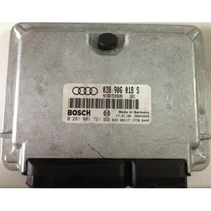 ECU Audi A4, 1.9TDI - Bosch 0281001721, 0 281 001 721, 038906018S, 038 906 018 S - EDC15V AFN 356817