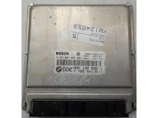 ECU Rover 75, 2.0CDTI - Bosch 0 281 001 895, 0281001895, DDE 7785541, 28RTE522, NNN100692, EDC15 C4