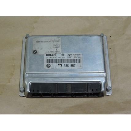 ECU Bmw E46 320, 2.0DTI - Bosch 0 281 010 205, 0281010205, 7 786 887, 7786887