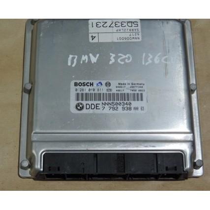 ECU Land Rover Freelancer 2.0TDI - Bosch 0 281 010 811, 0281010811, DDE 7 792 938, 7792938