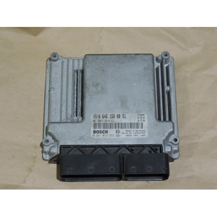 ECU Mercedes-Benz W203, C220, 2.2CDI - Bosch 0 281 012 222, 0281012222, A6461500091, A 646 15 00 91, CR3.44