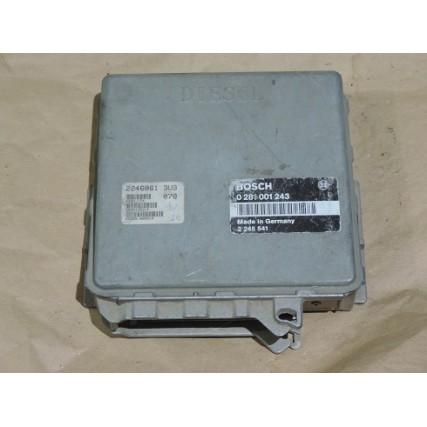 ECU Bmw E36 318, 1.8 TDS - Bosch 0281001243, 0 281 001 243, 2245541, DDE 2 245 541
