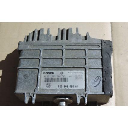 ECU Vw Polo, Seat 1.0, Bosch 0 261 203 744/745, 0261203744, 030 906 026 AK, 030906026AK