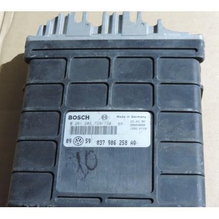 ECU Vw Golf III, 1.6 - Bosch 0 261 203 729/730, 0261203729/730, 037 906 258 AQ, 037906258AQ