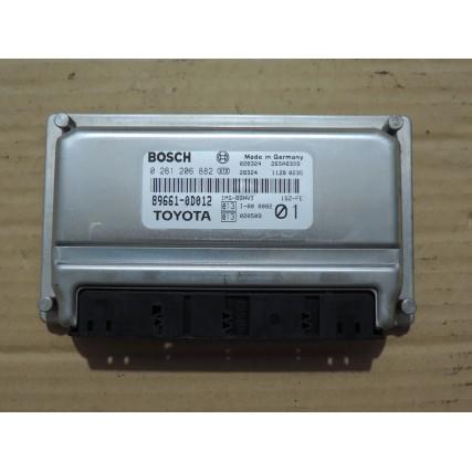 ECU Toyota Yaris, 1.0 - Bosch 0 261 206 882, 0261206882, 89661-0D011, 896610D011
