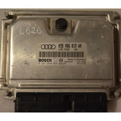 ECU Audi A4, 1.9TDI - Bosch 0 281 010 094, 0281010094, 0 38 906 019 AN, 038906019AN