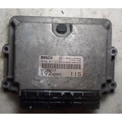 ECU Fiat Stilo 1.9TDi - Bosch 0 281 011 421, 0281011421, 19242ADD, 1039S02356/115