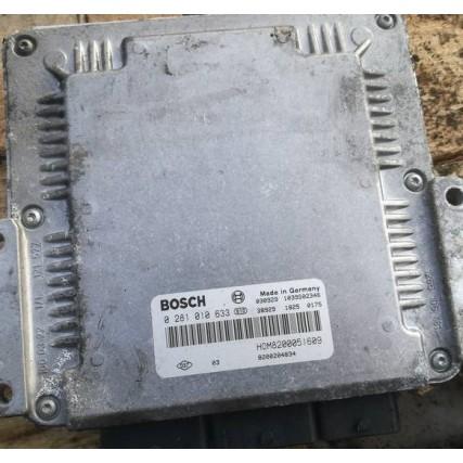 ECU Renault Trafic 1.9DCI - Bosch 0281010633, 0 281 010 633, HOM8200051609, 8200051609, 8200119842