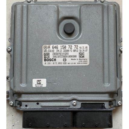ECU Mercedes Vito 2.2CDI - Bosch 0281015062, 0 281 015 062, EDC16CP31 - CR4.21, A6461507272, A 646 150 72 72