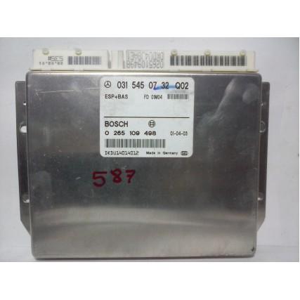 ESP + BAS Mercedes W210 - Bosch 0 265 109 498, 0265109498, 031 545 07 32, 0315450732