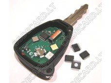 PCF7941 programmed for Chrysler-Dodge-Jeep KOBOT04A remote key