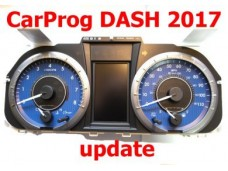2017 dashboard software update using EEPROM/MCU connection