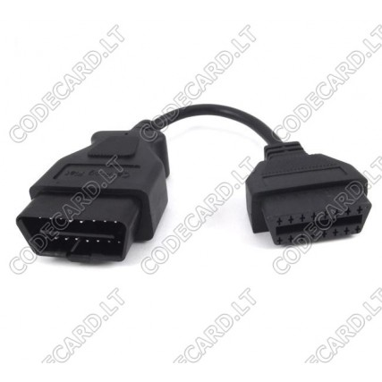 Fiat CAN - 2006+ airbag and dashboard programming adapter