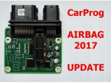 2017 CarProg Airbag software update